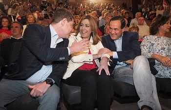 Acto de Susana Díaz en Albacete