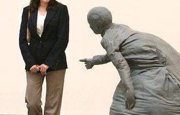La escultora Cristina Iglesias, en una foto de archivo.