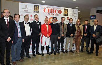 Clausura X Festival Internacional de Circo de Albacete.