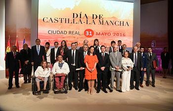 Acto Institucional del Día de Castilla-La Mancha. Foto: José Ramón Márquez-Ignacio López // JCCM