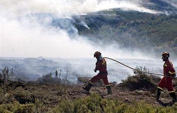 Incendios. Foto: EFE.