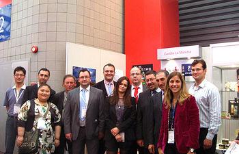 Castilla-La Mancha ha participado con 8 empresas de la región en la Feria Sial de China.