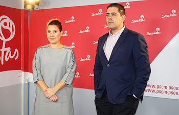 José Manuel Bolaños y Pilar Esapadas.