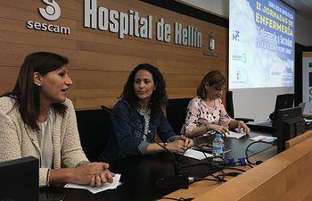 II Jornadas de Enfermería que se han celebrado  en el Hospital de Hellín.