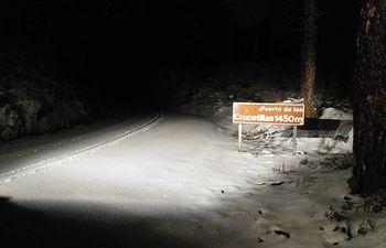 El dispositivo de vialidad invernal de la Diputación de Albacete actúa en 320 kilómetros de carreteras afectados por la nieve