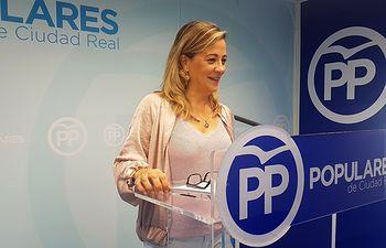 Lola Merino, concejal del Grupo Municipal Popular en el Ayuntamiento de Ciudad Real.