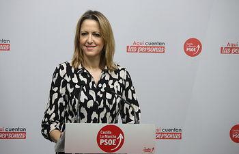 Cristina Maestre, portavoz regional PSOE.