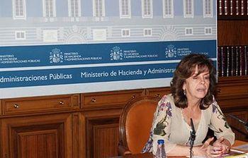 Pilar Platero Interior. Foto: Ministerio de Hacienda y Administraciones Públicas.
