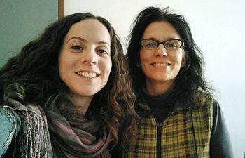 Maria Defez y Francisca Soriano
