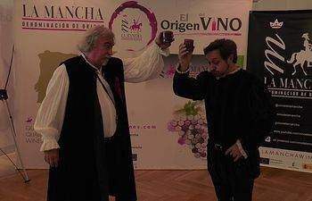 Actores de Cervanvino en Madrid.