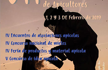 Cartel de las Jornadas Apícolas.