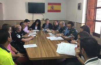 El subdelegado del Gobierno copreside las Juntas Locales de Seguridad de Chinchilla