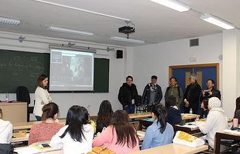 Visita de la delegación taiwanesa
