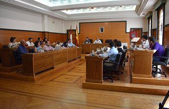Pleno Ayuntamiento de Villarrobledo.