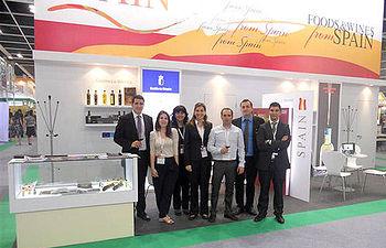 Empresarios de Castilla-La Mancha en la 14ª edición de HOFEX en Hong Kong
