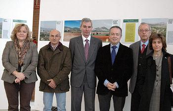 La muestra se puede visitar hasta el 15 de enero de 2011 en el edificio Benjamín Palencia