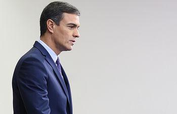 El presidente del Gobierno en funciones, Pedro Sánchez. (Archivo). Pool Moncloa/Borja Puig de la Bellacasa.