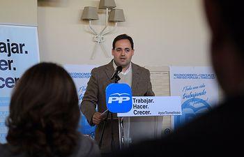 Francisco Núñez en Tomelloso