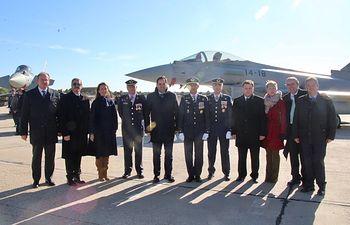 Actos con motivo de la celebración del día de Nuestra Señora de Loreto, patrona del Ejército del Aire.