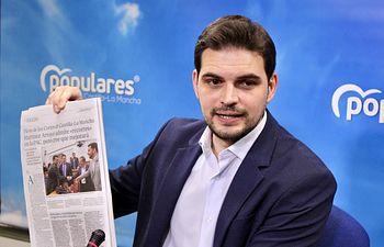 Santiago Serrano, vicesecretario de Comunicación del PP.
