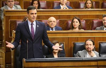 Intervención de Pedro Sánchez.