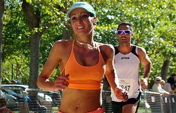 Elena Ruiz Nieva, ganadora.