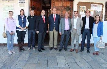 Lucas-Torres se reúne con el PP Almagro