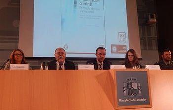 Presentación libro sobre investigación criminal. Foto: Ministerio del Interior.
