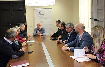 Reunión DG Transición Energética y Campos de Hellín.