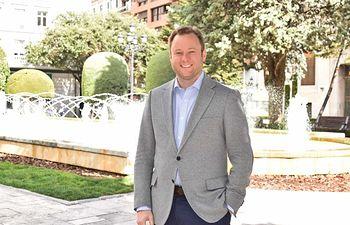 Vicente Casañ, candidato de Cs a la Alcaldía de Albacete.