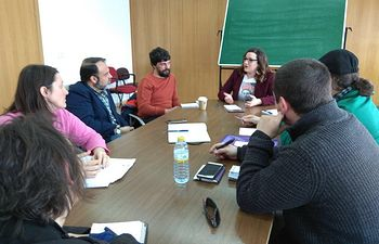 PODEMOS-CLM se reúne con GANEMOS Toledo.