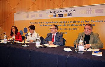 Javier Pérez en Albacete en la presentación del III Seminario Formando Redes