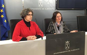 Mª Victoria Delicado y Dolores del Olmo