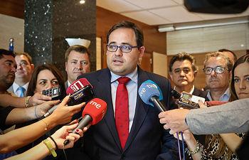 Paco Núñez, presidente del PP en Castilla-La Mancha.