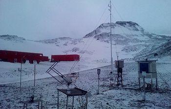 Observatorio Meteorológico Base Antártica Española. Foto: Ministerio de Agricultura, Alimentación y Medio Ambiente