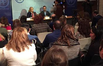 Javier Maroto se reúne con el PP de Asturias
