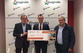 """Imaginalia dona a Asprona 1.010€ de la recaudación de las entradas de """"El pasaje del terror"""""""