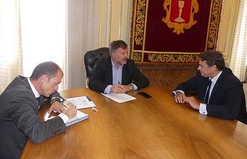 Reunión CEOE CEPYME Cuenca y Ayuntamiento de Cuenca.
