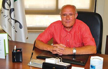 Andrés Sánchez Ortega, presidente de la Junta provincial de Albacete de la AECC.
