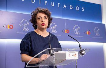 Gloria Elizo, secretaria de Acción Institucional de Podemos.