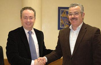 Francisco José Quiles y Juan Carlos Araujo