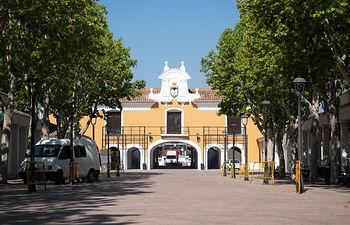 Paseo Central del Recinto Ferial de Albacete. Foto: La Cerca - Manuel Lozano García