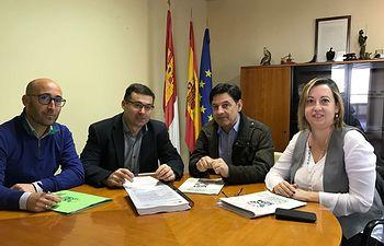UPA de Castilla-La Mancha se ha reunido con el director general de Desarrollo Rural, Nicasio Peláez.