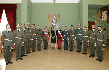 Entrega de Reales Despachos en la Academia General Militar. Foto: Marco Romero/MDE