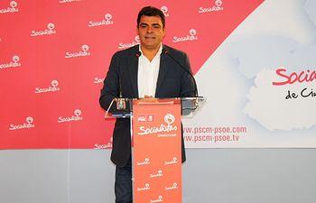 Ricardo Calzado, secretario de Empleo de la Ejecutiva provincial del PSOE. Foto: PSOE Ciudad Real.
