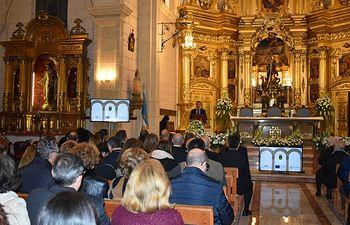 Santiago Cabañero valora la importancia de la recuperación del patrimonio histórico local y su apertura al conjunto de la ciudadanía durante el acto de inauguración del Monasterio de los Padres Franciscanos de Hellín.