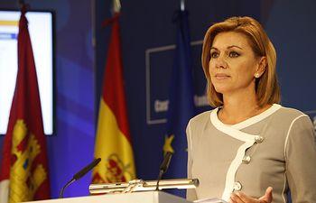 Presidenta Cospedal presenta los Presupuestos Generales de Castilla-La Mancha para el año 2015-4. Foto: JCCM.