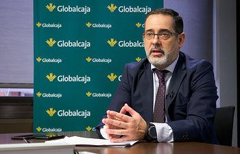 Javier Eiroa, responsable del Departamento de Seguros de Globalcaja. Foto: Manuel Lozano Garcia / La Cerca