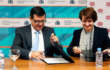 El Ministerio de Educación, Cultura y Deporte y la Fundación ONCE impulsan la accesibilidad en los campus universitarios