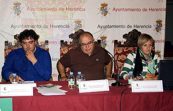 Gregorio Gómez en las Jorandas de Herencia. Foto: Cooperativas Agro-alimentarias.